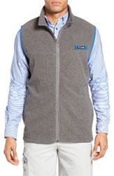 Columbia Men's Pfg Harborside Fleece Zip Vest Yacht Cupid