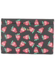 Paul Smith Strawberry Print Wallet Black