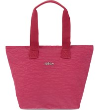 Kipling Niamh Nylon Lunch Tote Pink Berry