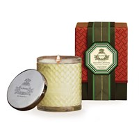 Agraria Woven Crystal Candle Lime And Orange Blossom