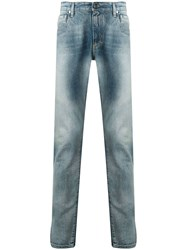 Represent Faded Effect Jeans Blue