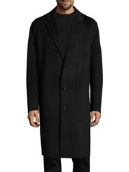 Acne Studios Charles Cashmere And Wool Top Coat Black