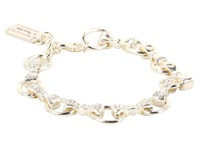 My Flat In London Windsor Link Bracelet Silver Stone Bracelet Multi