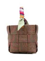 Etro Woven Style Paisley Patterned Bag 60
