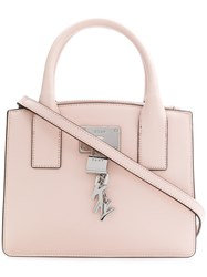 Donna Karan Small Tote Pink And Purple