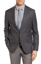 Sand Men's Trim Fit Hopsack Wool Blazer