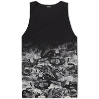 Marcelo Burlon All Over Snake Tank Black