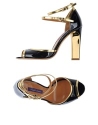 Ralph Lauren Collection Footwear Sandals Women Dark Blue