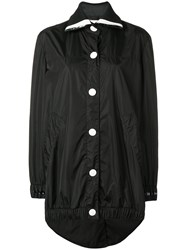 No Ka' Oi Oversized Button Sports Parka Black