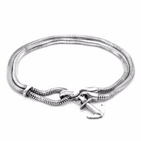 Anchor And Crew Brighton Silver Chain Bracelet
