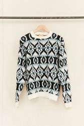 Urban Renewal Vintage Textured Patterned Sweater Assorted