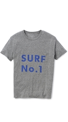 Quality Peoples Surf No. 1 T Shirt Heather