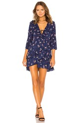 Auguste Desert Dandelion Grace Mini Dress Navy