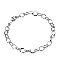 Theo Fennell White Gold Outline Link Bracelet Female