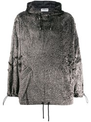 Tom Wood Textured Drawstring Hoodie 60