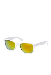 Forever 21 Mirrored Wayfarer Sunglasses White