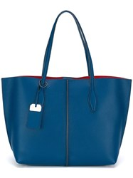 Tod's Shopper Tote Blue