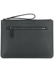 Salvatore Ferragamo Revival Clutch Black