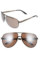 Carrera Men's Eyewear Ca102 65Mm Aviator Sunglasses Brown