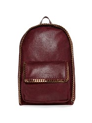 Stella Mccartney Falabella Faux Suede Backpack