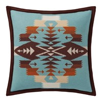 Pendleton Tucson Feltbound Reversible Cushion Aqua
