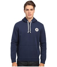 Converse Core Pullover Fleece Hoodie Nighttime Navy Men's Sweatshirt