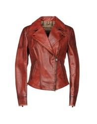 Matchless Jackets Rust