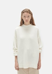 Organic By John Patrick Big Sweater Off White