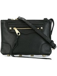 Rebecca Minkoff Zip Front Crossbody Bag Black