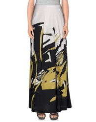 Piazza Sempione Skirts Long Skirts Women White