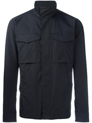 Theory 'Yost' Military Jacket Blue