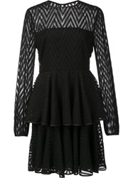 Zac Posen 'Alexandria' Dress Black