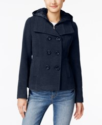 American Rag Hooded Peacoat Only At Macy's Navy