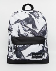 Religion Religon Birds Backpack Black