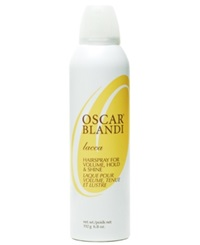 Oscar Blandi Lacca Hairspray For Volume Hold And Shine 6.8 Oz No Color