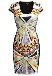 Just Cavalli Cocktail Dress Party Dress Black Orange