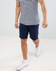 Tom Tailor Slim Fit Chino Shorts In Blue