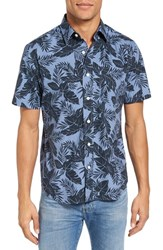 Jack Spade Men's Tropics Short Sleeve Sport Shirt