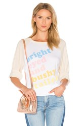 Wildfox Couture Bright Eyed Tee White