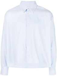 Second Layer Simple Shirt Blue