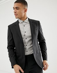 Tommy Hilfiger Slim Fit Suit Jacket Black