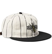 Ebbets Field Flannels 1925 Salt Lake City Bees Embroidered Wool Baseball Cap Black