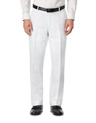 Perry Ellis Linen Blend Trousers Bright White