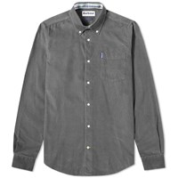 Barbour Cord Shirt Grey