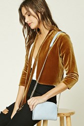Forever 21 Faux Leather Quilted Crossbody