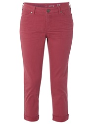 White Stuff Southern Cropped Trousers Candied Melon