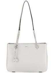 Donna Karan Briant Mid Sized Shopper Grey