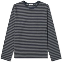 Nanamica Coolmax Long Sleeve St. Jersey Tee Grey