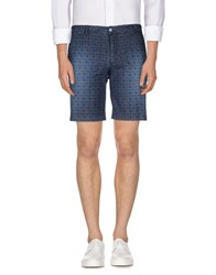 Hamaki Ho Trousers Bermuda Shorts Men Dark Blue