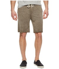 Threads For Thought 4 Burnout Fleece Shorts Bark Brown